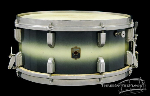 1940 Leedy 'Broadway' Standard Model Vintage Snare Drum : 6 x 14
