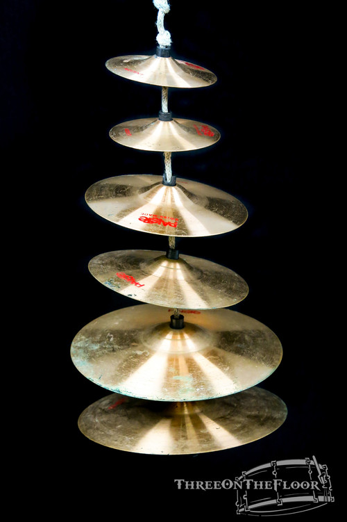 1980s Paiste Discontinued Sound Tree Accent Cymbals Set : Vintage 2002 **SOLD**