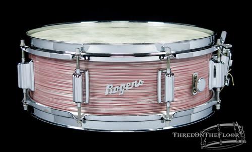 1967 Rogers Wine Red Ripple Pearl Powertone Vintage Snare Drum : 5 x 14 **SOLD**