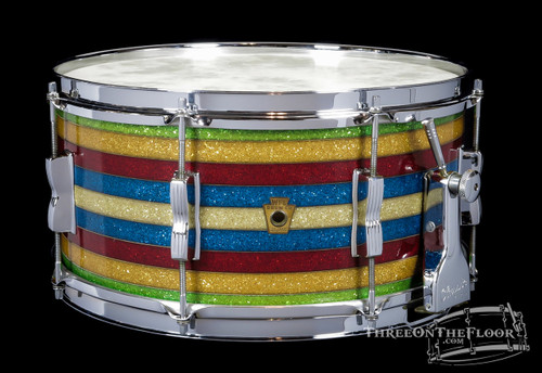 1950 WFL / Ludwig 'Banded Pearl' (Salesman Sample) Super Classic Snare Drum : 6.5 x 14
