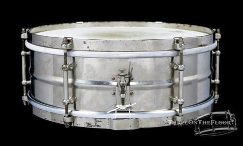 1930s Slingerland Universal Model Vintage Brass Snare Drum : 5 x 14 **SOLD**