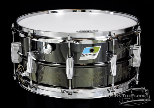 1978 Ludwig Engraved Black Beauty  :  6.5 x 14