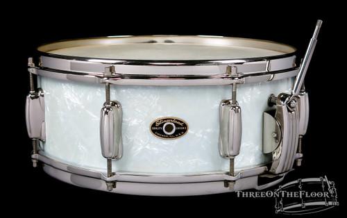 1956-59 Slingerland Radio King Vintage Snare Drum WMP Nickel : 5 x 14 **SOLD**