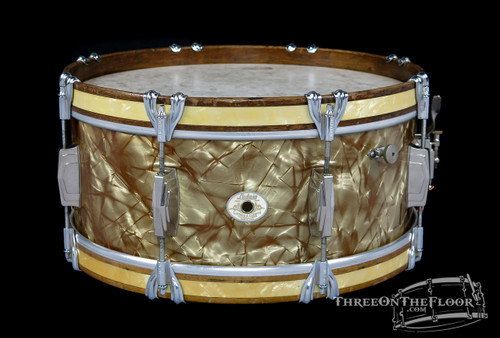 1944 Ludwig & Ludwig Standard Snare Drum :  6.5 x 15