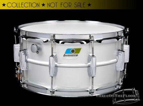1977 Ludwig Acrolite Snare Drum :  6.5 x 14