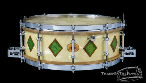 1930s Ludwig & Ludwig Full Dressed Super Ludwig Snare : 5 x 14