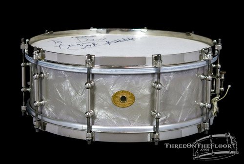 1920s Ludwig Lavender Pearl Professional Model Snare Drum :  5 x 14