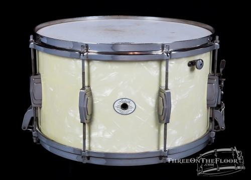 1942 Ludwig Standard Model WMP Snare Drum :  8 x 14 **SOLD**
