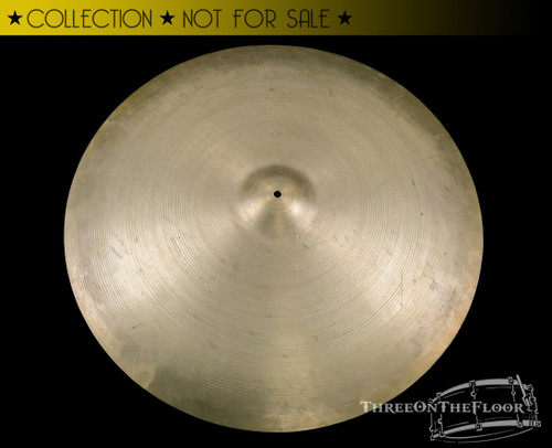 "1960s Zildjian Avedis 30"" Ride Cymbal Vintage : 7290 grams"