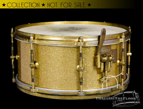 1930s Gretsch Gladstone 2-Way Snare Drum  :  7 x 14