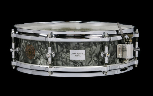 1951 Gretsch 'Max Roach' Model Snare Drum Black Diamond : 4 x 14 : SOLD