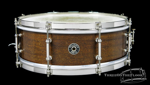 1930s Leedy Reliance Model 3-Ply Wood Snare Drum :  5 x 14 **SOLD**