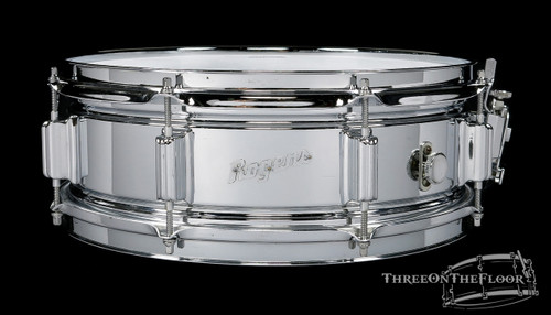 1967 Rogers Powertone Vintage Brass Vintage Snare Drum : 5 x 14
