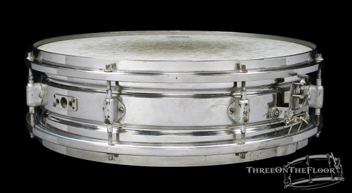 1920s Leedy 'Multi Model' Model Brass Shell Vintage Snare Drum :  4 x 14 **SOLD**