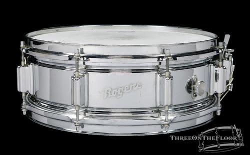 1965 Rogers Powertone Vintage Brass Vintage Snare Drum : 5 x 14 **SOLD**