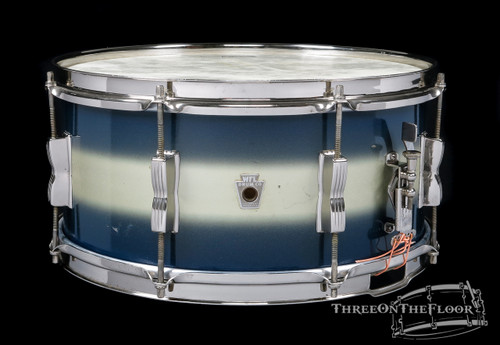 1940s Ludwig WFL Aluminum Badge Contest Model Snare Duco Nickel : 6.5 x 14 **SOLD**