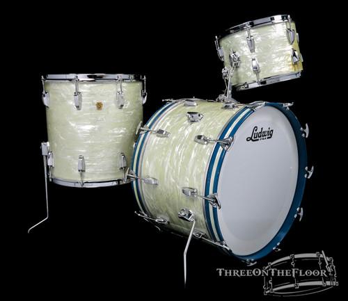 1965 Ludwig Super Classic WMP Keystone Drum Kit - 22 13 16