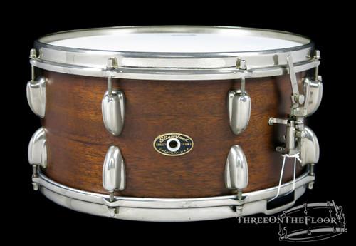 1956-59 Slingerland Concert King Model Snare Drum Natural : 6.5 x 14