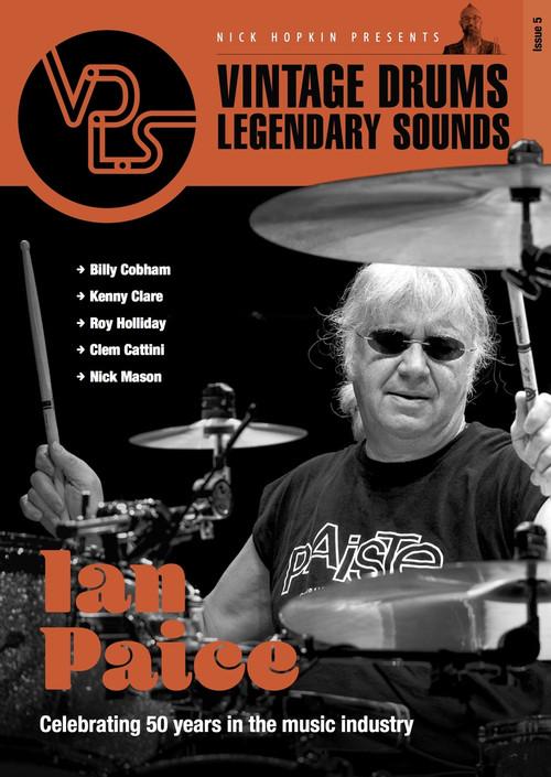 Vintage Drums Legendary Sounds Magazine : Volume #5