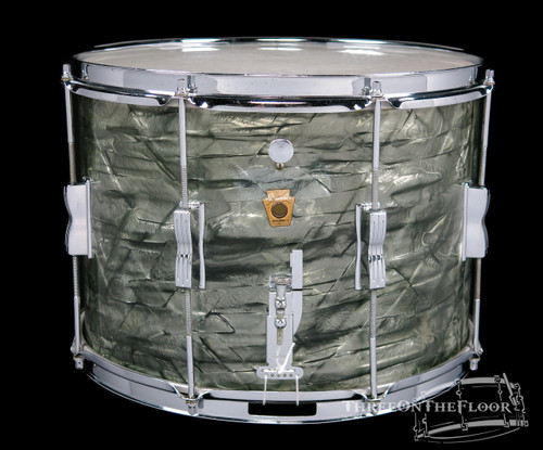 1964 Ludwig Sky Blue Pearl Field / Parade Snare Drum : 10 x 14