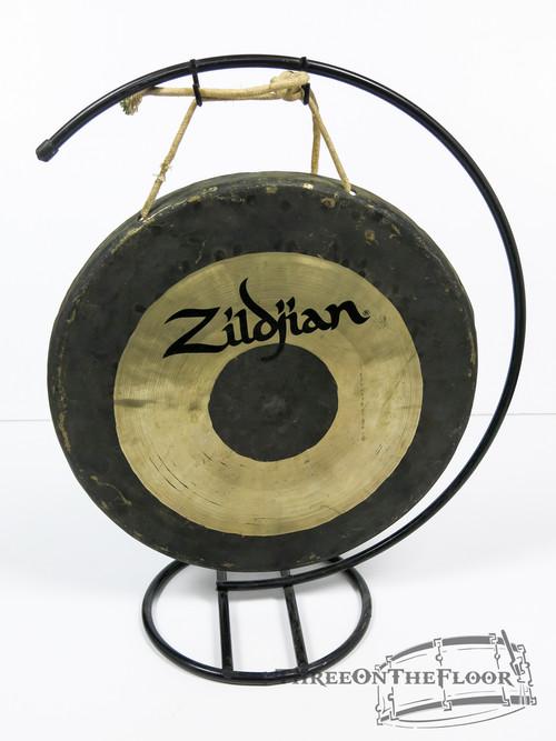 """Zildjian 12"""" Effects Gong Cymbal w/ Stand"""