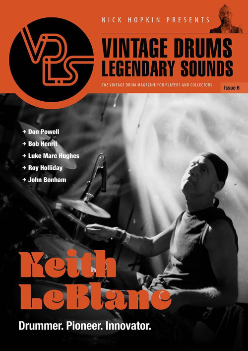 Vintage Drums Legendary Sounds Magazine : Volume #6