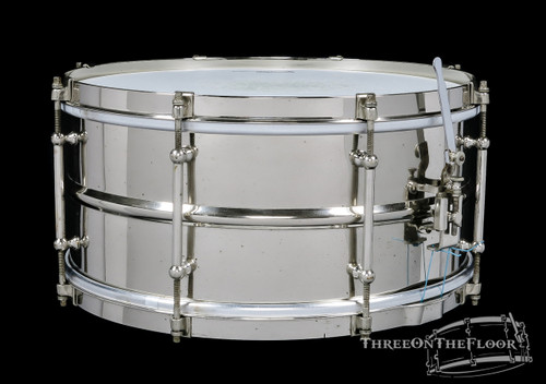 1930s Slingerland Professional Model Brass Snare Drum : 6.5 x 14