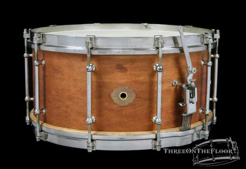 1930s Slingerland Tone Flange Model Vintage Snare Drum / Fancher : 7 x 14
