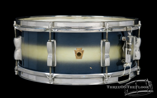 1957 Ludwig WFL Barrett Deems Model Duco Snare Drum Jazz Fest : 5.5 x 14