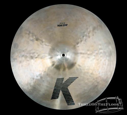 """1982-88 Zildjian EAK 20"""" Jazz Ride : 'Early American K' Cymbal : 2140g : SOLD"""