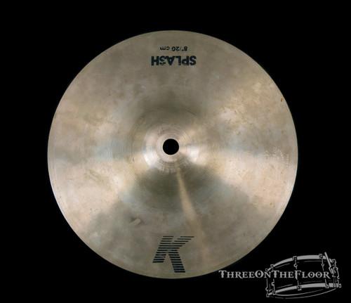 """1978-81 Zildjian EAK 08"""" Splash Cymbal : 'Early American K' : 150g : SOLD"""
