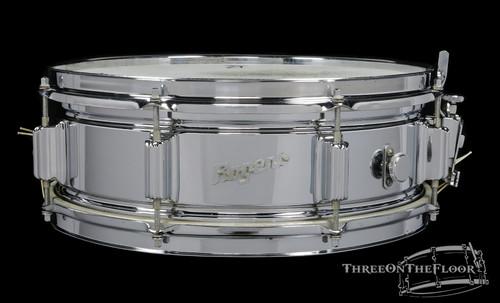 1965 Rogers Powertone COB Brass Vintage Snare Drum : 5 x 14 **SOLD**