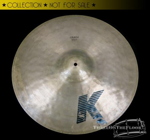 "1982-88  Zildjian EAK 20"" Crash Ride Vintage Cymbal : 2080 Grams"