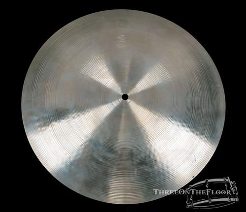 "1970s Zildjian Avedis 16"" Flat Ride Vintage Cymbal : 1280 Grams"