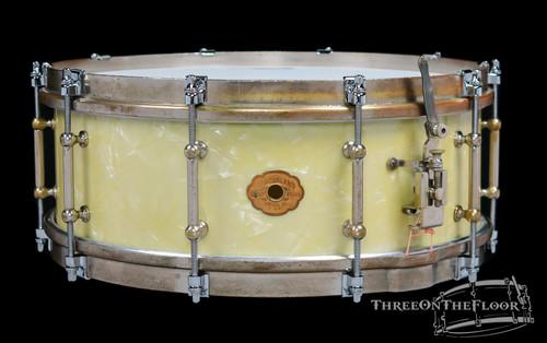 1930s Slingerland 'Tone Flange' Model Snare Drum WMP : 5 x 14
