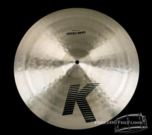 "1978-81 Zildjian EAK 17"" Dark Crash Cymbal : 'Early American K' 1180 Grams : SOLD"