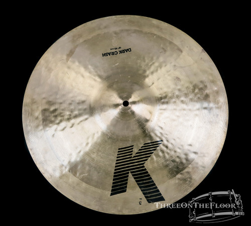 "1978-81 Zildjian EAK 18"" Dark Crash Cymbal : 'Early American K' 1430 Grams : SOLD"