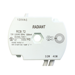replaces Viva VE T9 Fluorescent Ballast RCB55 55W Electronic Circline Ballast with G10q Connector Radiant 00055