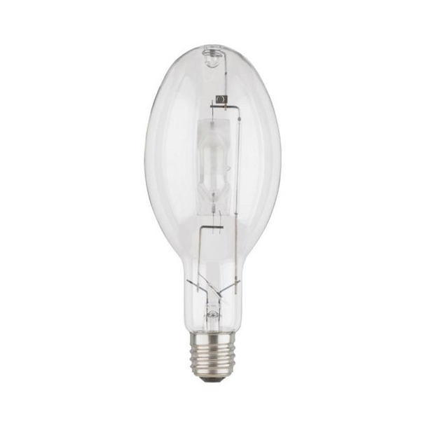 Sylvania 64036 - 400 Watt - ED37 - E39 Mogul Base - Clear Finish | Probe Start - ANSI M59/S1 - Unprotected Arc - Universal Burn - 4000K - HID Metal Halide Lamp