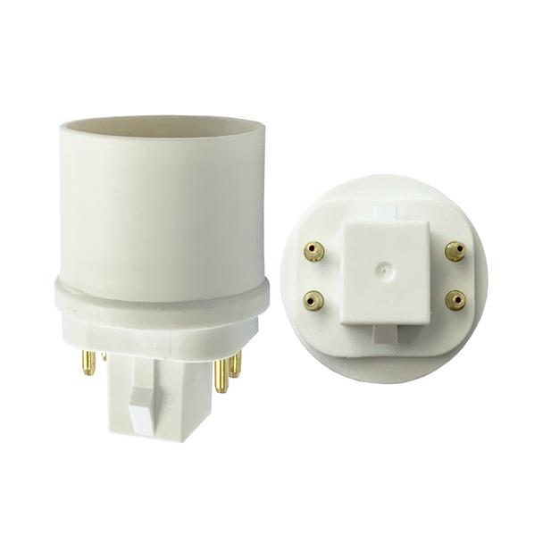Light Socket Adapter | 4 Pin G24q to Medium