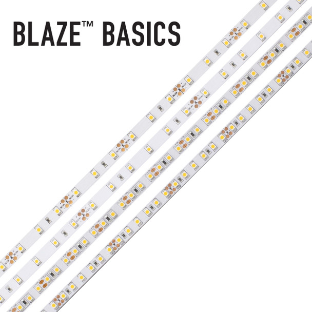 Diode LED Blaze Basic Low Voltage Dimmable - 2700K/3000K/5000K - 12V or 24V Input | LED Tape Light