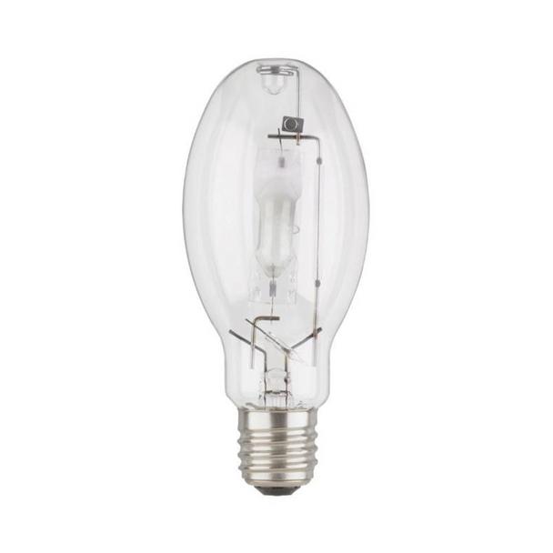 Sylvania 64046 - 250 Watt - ED28 - E39 Mogul Base - Clear Finish | Pulse Start - ANSI M153/E2 - Unprotected Arc - Universal Burn - 4000K - HID Metal Halide Lamp