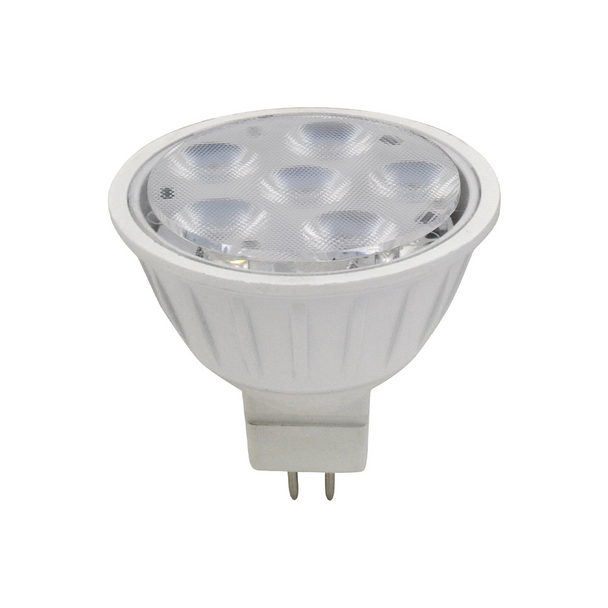 Halco MR16 - Red Green Blue White - 6W - 10-15V | Dimmable - Bluetooth Controlled - LED Color Changing Mini-Reflector Lamp