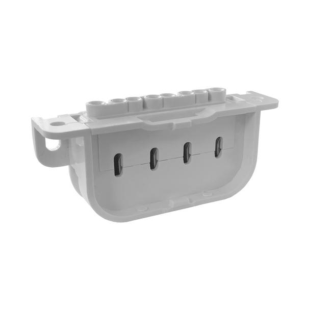 4 Pin 2G11 Socket | Horizontal - Screw On - For PLL Lamps - Edwin Gaynor 286-SC