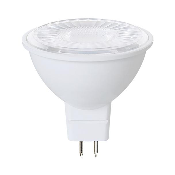 Euri LED MR16 Lamp - 7 Watt - 5000K - 12 Volt | Replaces 50 Watt Halogen - 80+ CRI - 500 Lumens - 40° - Bi-Pin Base - EM16-7W4050ew