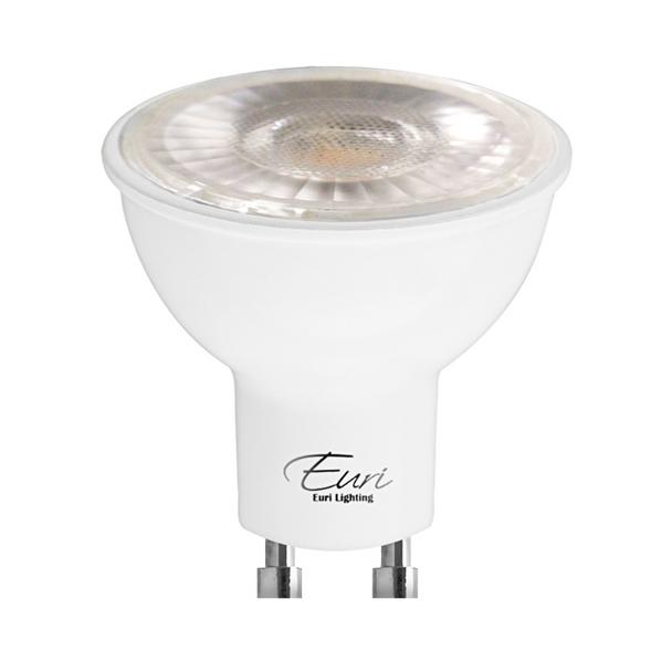 Euri LED PAR16 Lamp - 7 Watt - 5000K - (2) Pack | Replaces 50 Watt Halogen - 80+ CRI - 500 Lumens - 40° Beam - EP16-7W5050eG-2