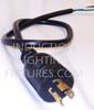 6 Foot Twist Lock 240 Volt Power Cord