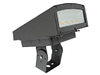 LFLS80BR 80 Watt LED Outdoor Flood Light, Area Light Fixture, with Adjustable Bracket DLC