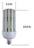 480V 250 Watt LED Metal Halide Replacement, Compact Design 35,000 Lumen Output (E39/40) Base ETL DLC Listed 5000K