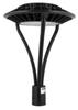 ILFX60-5K LED Post Light Fixture 60 Watt Halo Style with Acrylic Lens 6600 Lumens ETL DLC